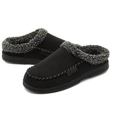 fb7d51a5190c Men s Slippers Moccasins Plush Flats Casual Shoes Suede Driving Loafers  Indoor  fashion  clothing  shoes  accessories  mensshoes  slippers (ebay  link)