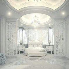 Dream Bedroom Design Ideas For Luxury House Dream Rooms, Dream Bedroom, Home Bedroom, Bedroom Decor, Royal Bedroom, Fancy Bedroom, Bedroom Ideas, Rich Girl Bedroom, Mansion Bedroom