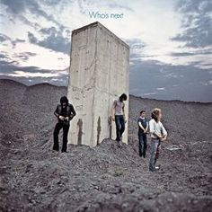 Top 50 Most Iconic Album Covers - IGN - The Who/Who's Next - This photo of the band at Easington Colliery was made to look as if the band had just urinated on the giant concrete slab they are standing near. Reportedly, the some of the band members were unable to 'go', so some water was poured to create the image.