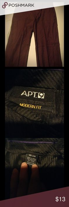 black dress pants by Apt 9 Modern fit black dress pants ready for a busy day at the office Apt. 9 Pants Trousers
