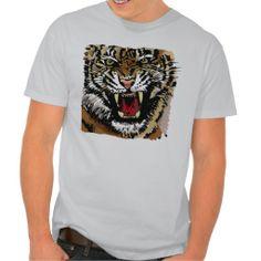 Tiger's Head T-shirt.