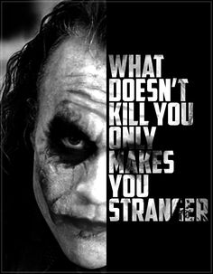 Heath Ledger's Joker Poster