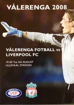 Valerenga v Liverpool Liverpool Fc, Football, Baseball Cards, Soccer, Futbol, American Football, Soccer Ball, Rugby