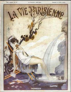 LA VIE PARISIENNE -cover art
