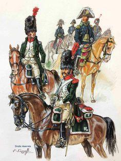 Guides du Maréchal Massena, Campagne d'Italie 1805