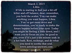 The Astrology Answers Daily Horoscope for Monday, March 2, 2015 #astrology