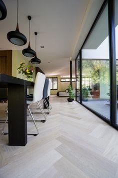 Bauwerk Qaudrato Eiken visgraat - Hoog ■ Exclusieve woon- en tuin inspiratie.