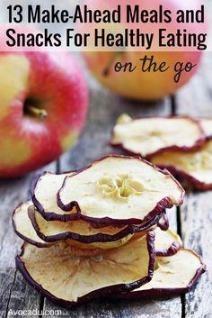 13 Make Ahead Meals and Snacks | Healthy Living | Avocadu.com