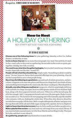 Everything You Need to Know for the Ultimate Holiday Party