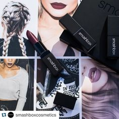 #Repost @smashboxcosmetics  The '90s called. They're back. Take part in the grunge revival by rocking a vampy berry lip with #BELEGENDARY Lipstick in Femme Fatale. #trendingatsephora by sephora