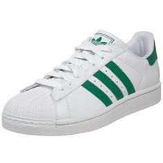 adidas Originals Men's Superstar II Court Sneaker,White/Fairway/White,6 D US adidas Originals,http://www.amazon.com/dp/B002L16YWE/ref=cm_sw_r_pi_dp_f5mYsb1GQGY3DNQT