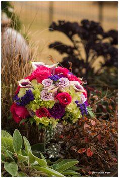 Bride bouquet at Daniel Stowe Botanical Garden