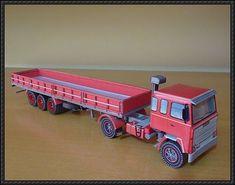 Scania LK 140 Truck Free Paper Model Download