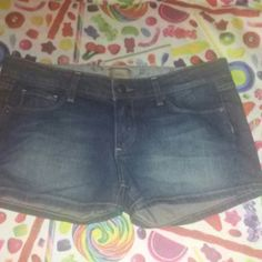 Paige Premium Denim Shorts 30 (11/12) NWOT New without tags. Never worn or washed. Paige Premium Denim shorts in size 30 (11/12 I think) basic cute summer short, five pockets, button & zip. Paige Jeans Shorts Jean Shorts