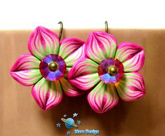 Millefiori Caned flowers by Mars Designs