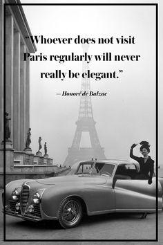 15 Best Paris Quotes - Favorite Quotes About France Paris Quotes, New Quotes, Life Quotes, Quotes About Paris, French Quotes About Life, Change Quotes, Family Quotes, Attitude Quotes, Book Quotes