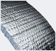 Reflective insulation can go by a few names, such as reflective foil insulation, radiant barrier insulation, foil insulation, etc.