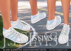 Pantone Running Shoes at JS Sims 4 via Sims 4 Updates