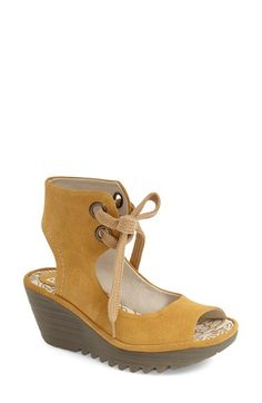 f0f7840eab84 Fly London  Yaffa  Wedge Sandal Fly London Shoes