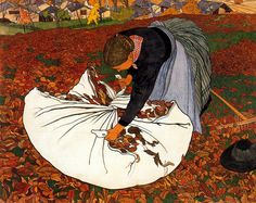 Art Nouveau Paintings by  Swiss Artist  Ernest Bieler