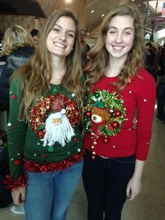 Ugly Sweater Brilliance.