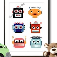 Bildresultat för robot poster kids