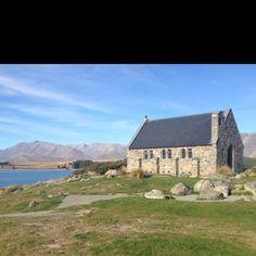 The church of the good Shepard - Lake Tekepo, South Island, New Zealand