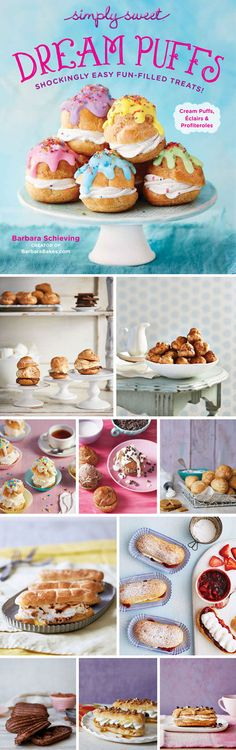 My cookbook, Simply Sweet Dream Puffs, is now available to download! This cookbook has been a labor of love, and I'm so happy to be able to finally share it with you.