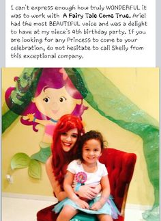Happy Saturday everyone! Princess party Ariel party princess party Palm Beach Boca Raton