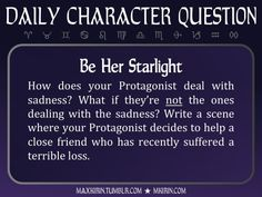 ★ Daily Character Question ★ ...