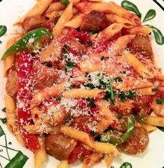 Olive Garden Sausage and Peppers Rustica Recipe