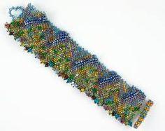 freeform peyote bracelet - Google Search