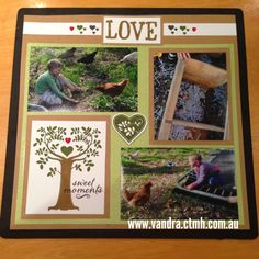 Vandra's Virtual CTMH Craftroom: Family is Forever S1409 : CTMH Stamp of the Month Australasian Blog Hop