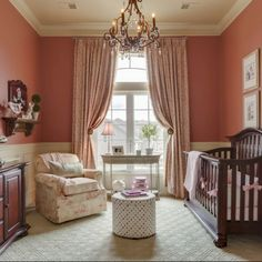 Adorable Pink Nursery