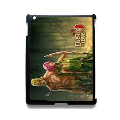 Clash Of Clans Barbarian And Archer TATUM-2674 Apple Phonecase Cover For Ipad 2/3/4, Ipad Mini 2/3/4, Ipad Air, Ipad Air 2