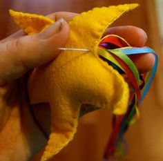 Felt Shooting Stars Tutorial with Maureen and Shanti of Twig and Toadstool — Rhythm of the Home Blog