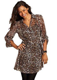 leopard print dress. $39.90 want want want!!