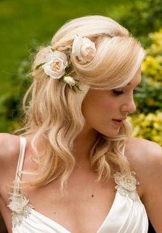 Mooie romantische slag bij deze bruid