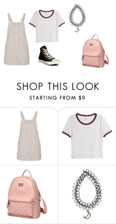 """Untitled #209"" by moonlightprincess93 on Polyvore featuring Topshop, H&M, Princess Carousel and Converse"