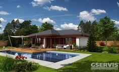 Rodinný dům Bungalow 70 - typový projekt G SERVIS