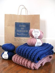 Poppy  un nouveau snood à tricoter en quelques heures pour soi ou pour tous  ceux 877d093b317