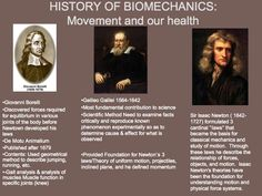 History of Kinesiology and Biomechanics