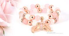 Angyali szeretet ásványkarkötő szett - Rózsaszín szemüveg A 17, Karma, Earrings, Jewelry, Ear Rings, Stud Earrings, Jewels, Schmuck, Jewerly