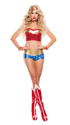 8ca65a704d Starline Powerful Woman Costume Women s Costume - Nastassy