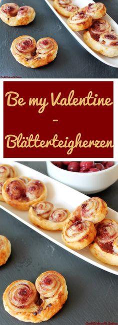 Blätterteigherzen - CandBwithAndrea - www.candbwithandrea.com - Collage