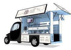 YATAI, Food truck Japonais by Julie Ferrieux, via Behance