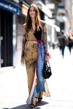 Silk Robe Coats