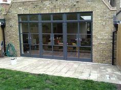 Beautiful Crittall Door to the garden