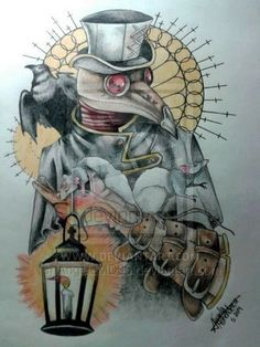 plague doctor tattoo - Buscar con