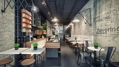Inspiring Cafe & Coffee Shop Interior Design Ideas - XDesigns